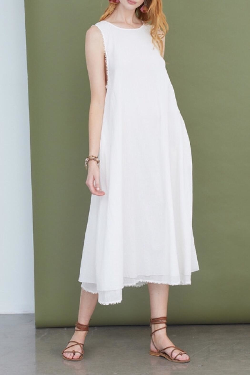 Chan Luu Jet-Stream Ida Dress - Main Image