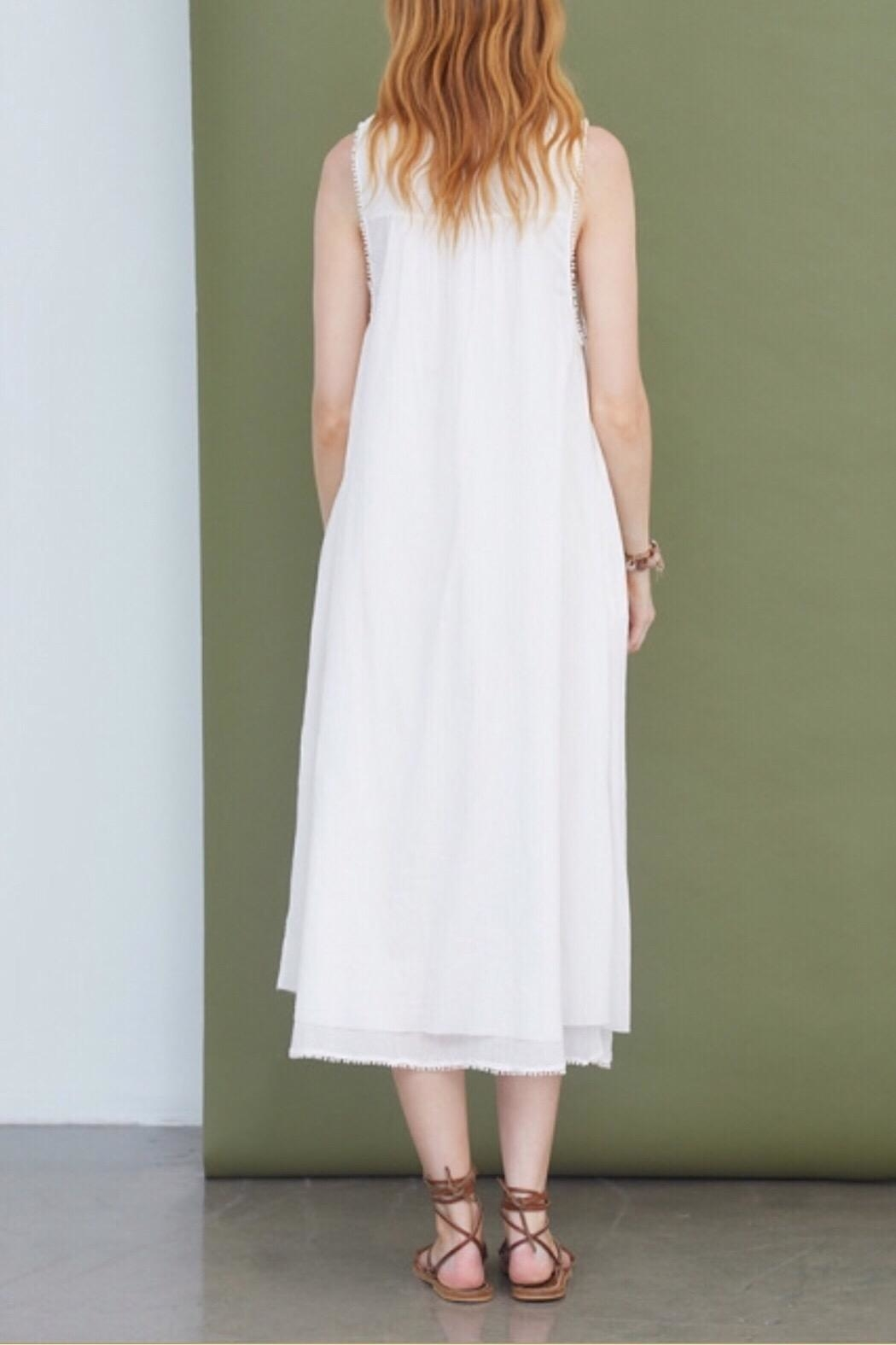 Chan Luu Jet-Stream Ida Dress - Front Full Image