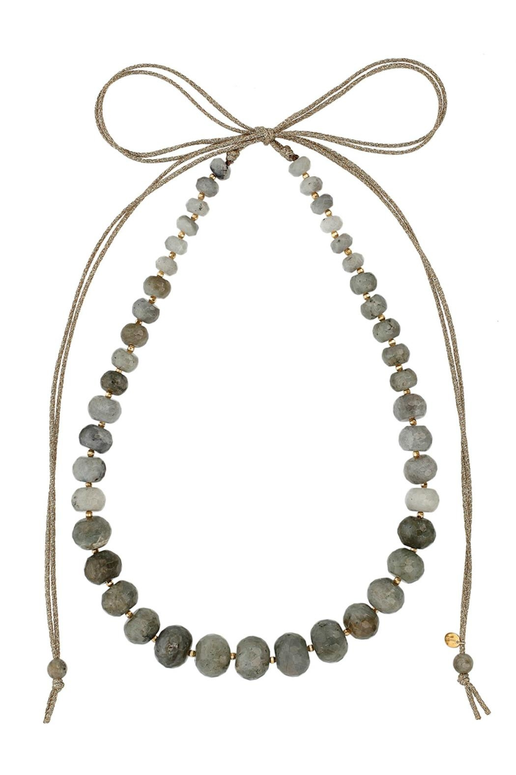 Chan Luu Long Stone Necklace - Main Image