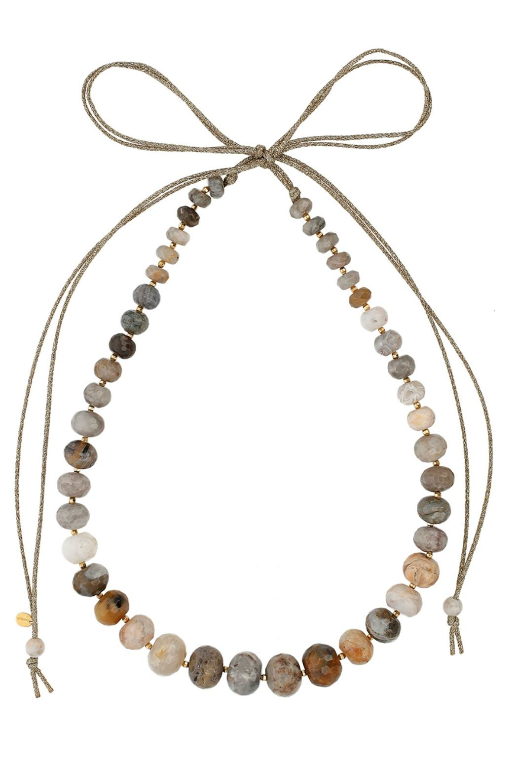 Chan Luu Long Stone Necklace - Front Cropped Image