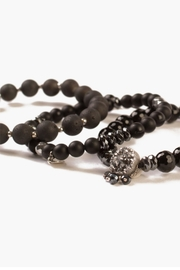 Chan Luu Onyx Mix Bracelet - Front full body