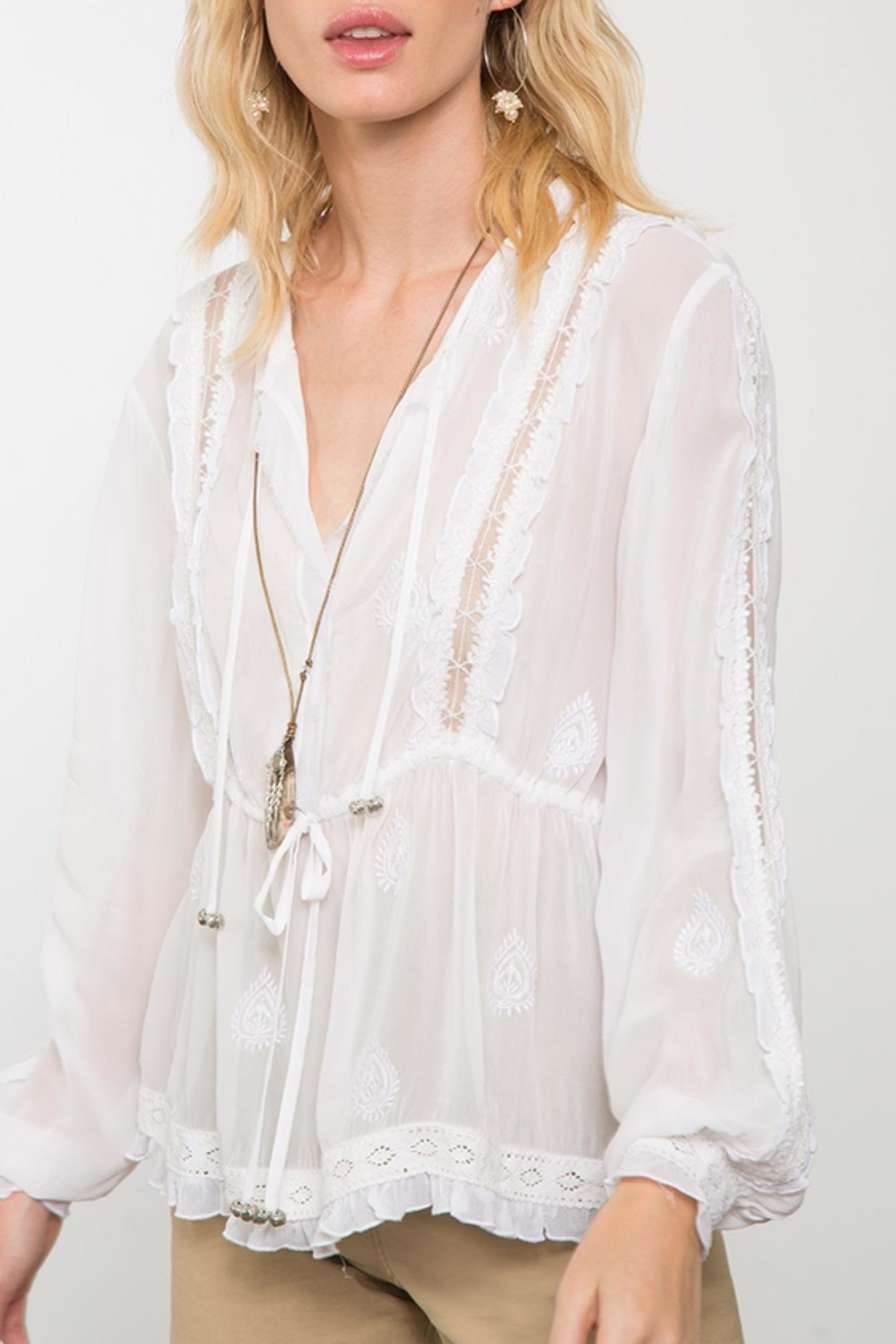 Chan Luu Providence Blouse - Front Full Image