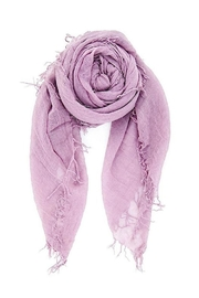 Chan Luu Purple Cashmere Scarf - Product Mini Image
