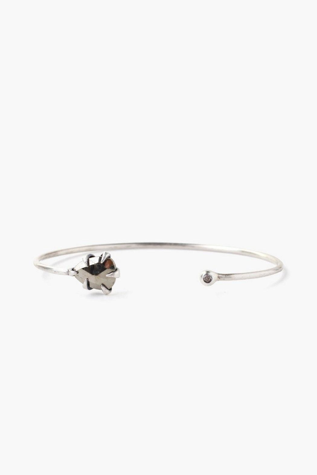 Chan Luu Pyrite Arrowhead Cuff - Front Cropped Image