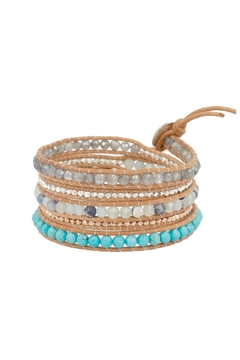 Chan Luu Semi Precious Wrap Bracelet - Alternate List Image