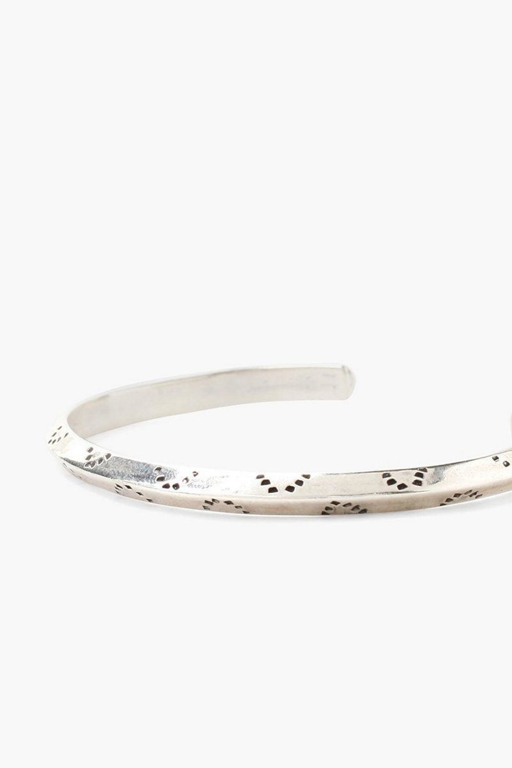 Chan Luu Silver Engraved Cuff - Front Full Image