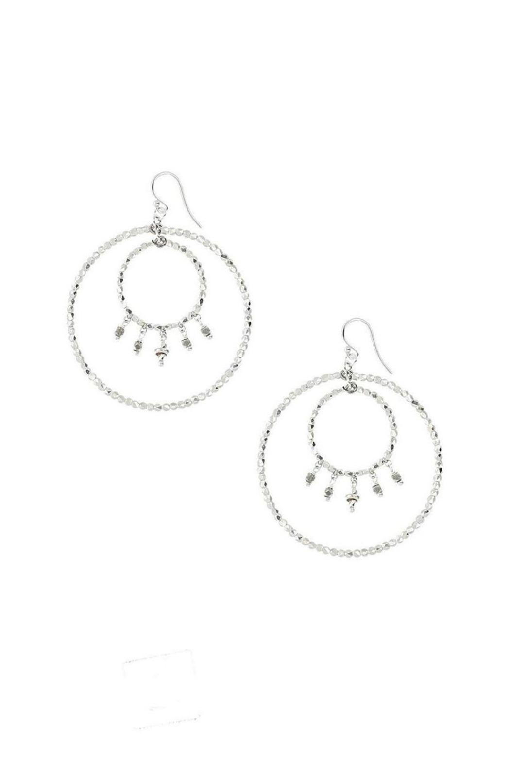 Chan Luu Silver Hoop Earrings - Main Image