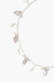 Chan Luu Silver Leaf Anklet - Front full body