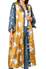 love token Chance Floral Open Kimono Robe - Product Mini Image