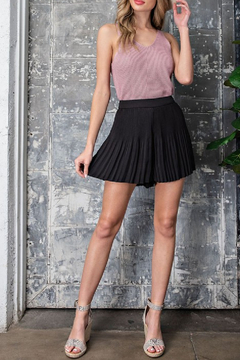 eesome Chanda Pleated Shorts - Product List Image