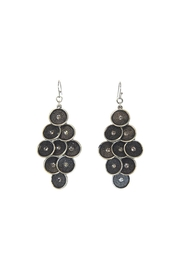 Giftcraft Inc.  Chandelier Circle Earrings - Product Mini Image