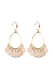 Riah Fashion Chandelier Dangling Earrings - Product Mini Image