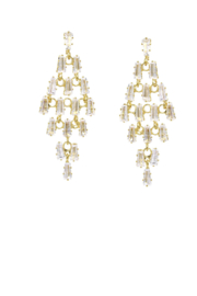 US Jewelry House Chandelier Drop Earrings - Front cropped