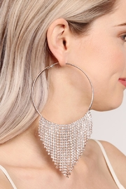 Riah Fashion Chandelier Hoop Earrings - Other