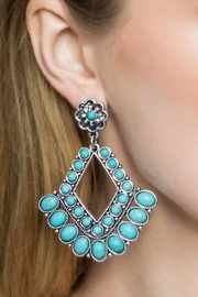 Urbanista Chandelier Natural Stone Earrings - Product Mini Image