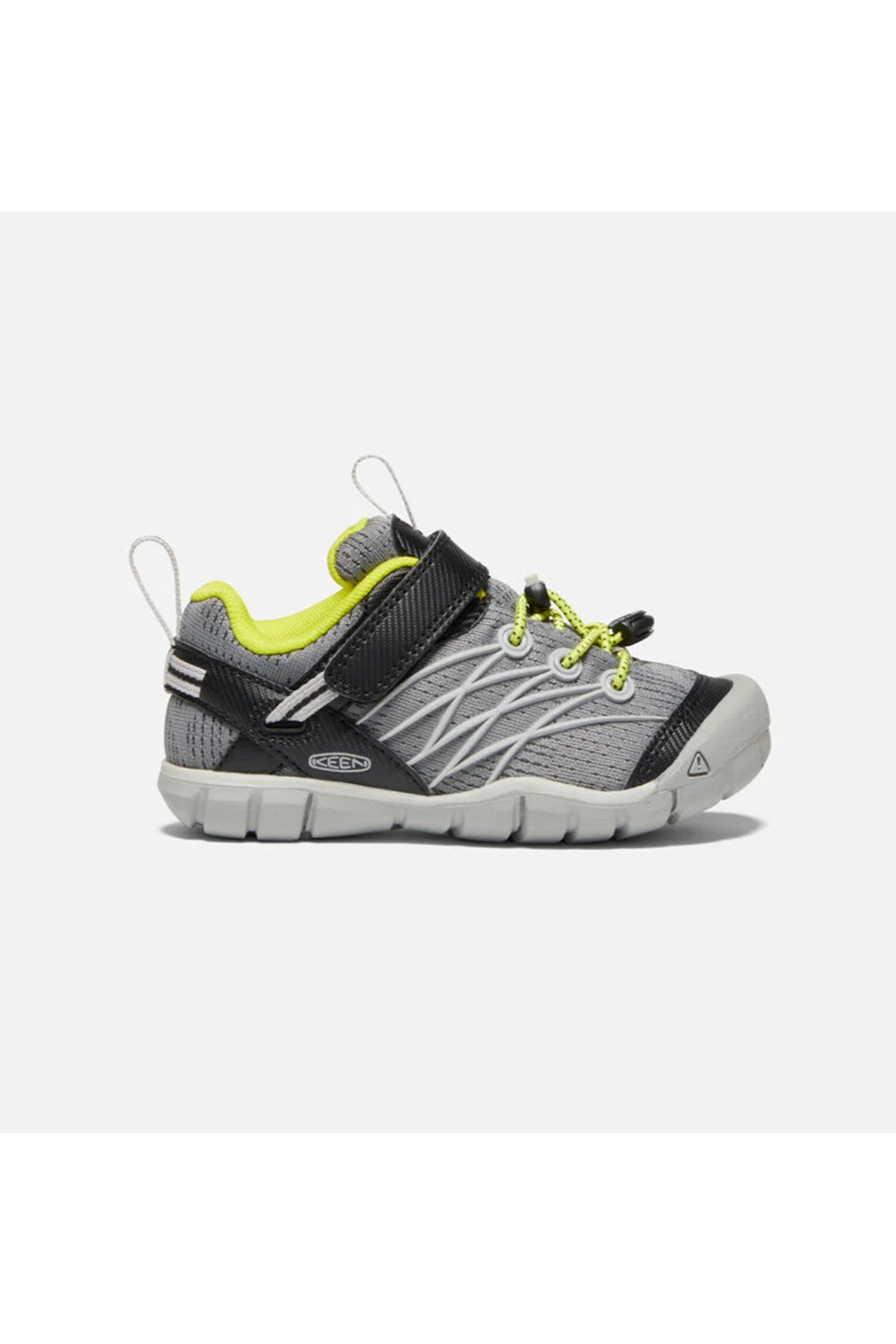 Keen Chandler CNX Kids Sneaker - Steel Grey/Evening Primrose - Front Full Image