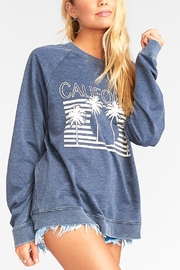 Show Me Your Mumu Chandler Graphic Pullover - Front cropped