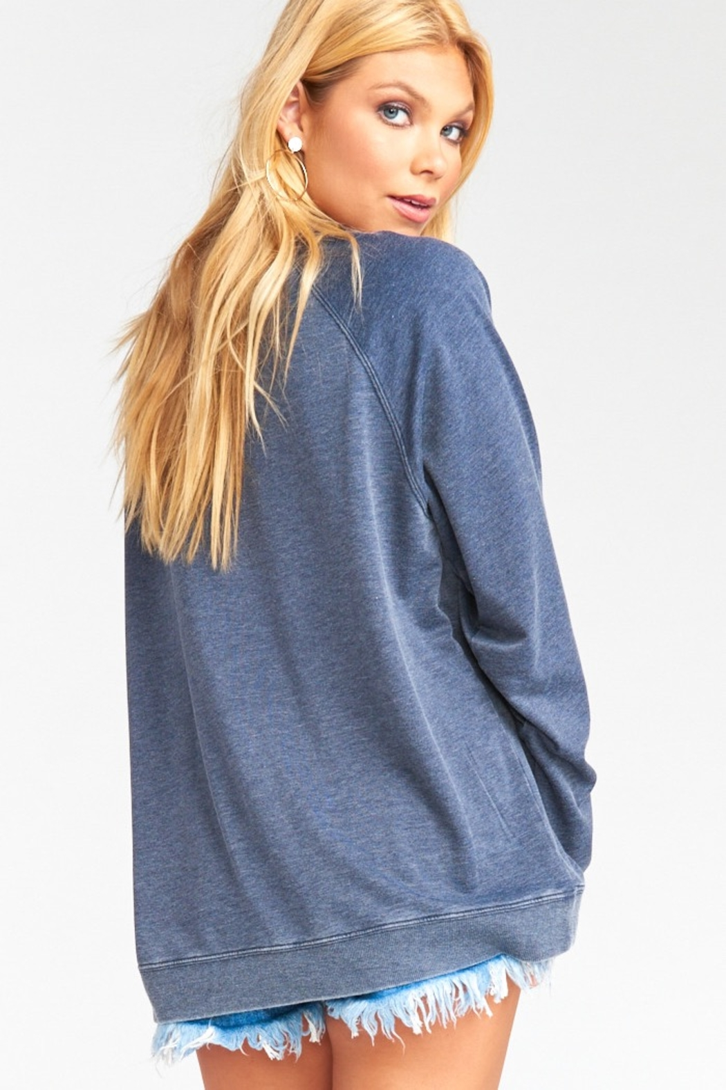 Show Me Your Mumu Chandler Graphic Pullover - Front Full Image