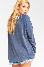 Show Me Your Mumu Chandler Graphic Pullover - Front full body