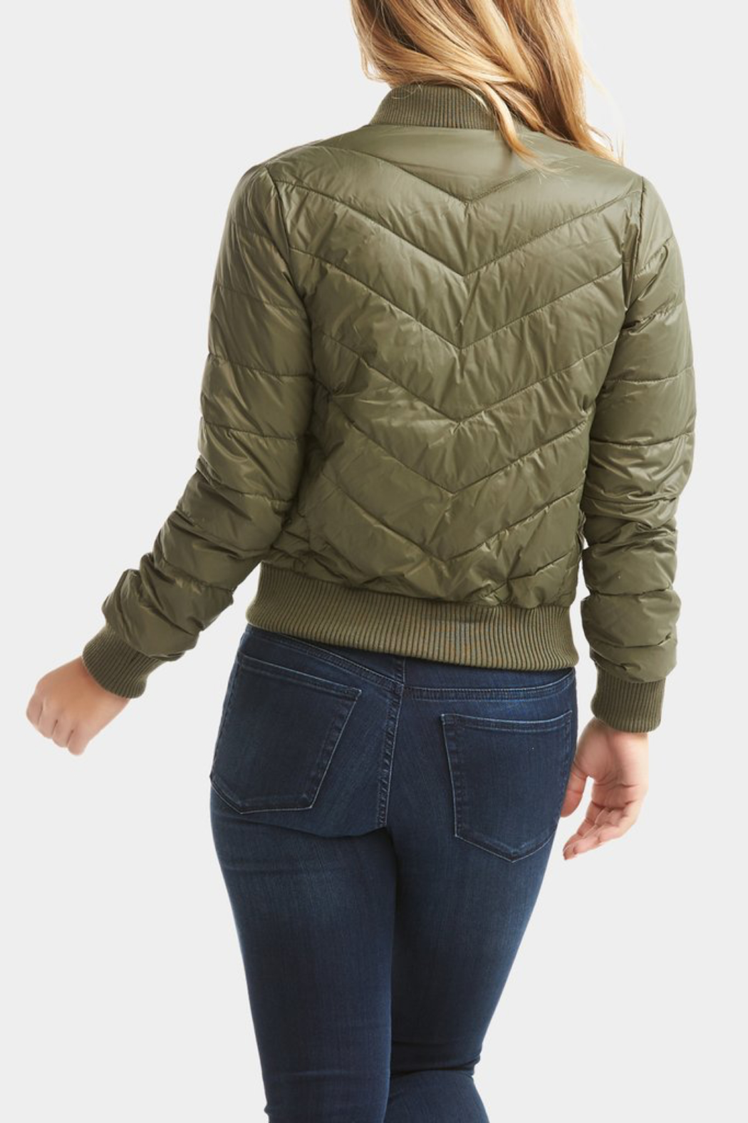 Tart Collections Chandler Puffer Bomber - Front Full Image