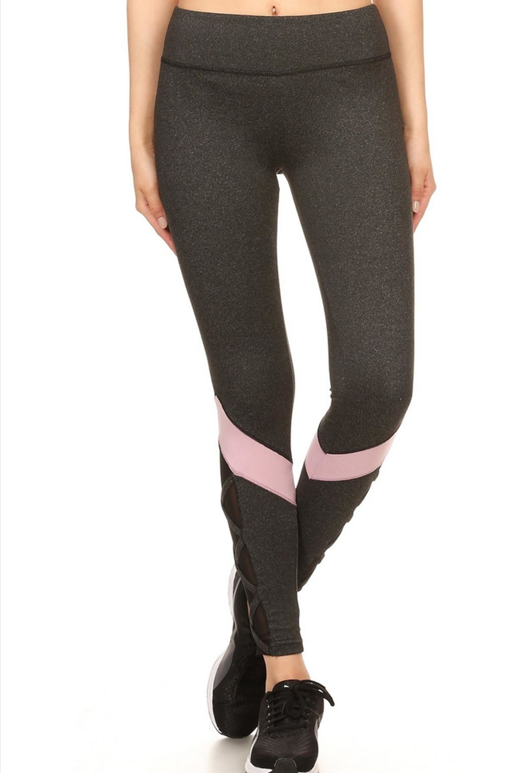 CHANDLEY Activewear Leggings - Front Cropped Image