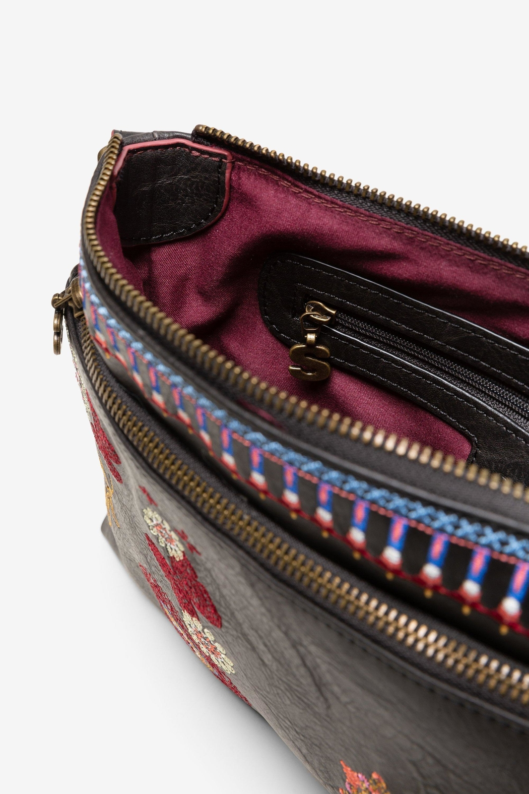 DESIGUAL Chandy Embroidered Messenger - Back Cropped Image