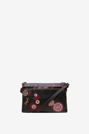 DESIGUAL Chandy Embroidered Messenger - Front cropped