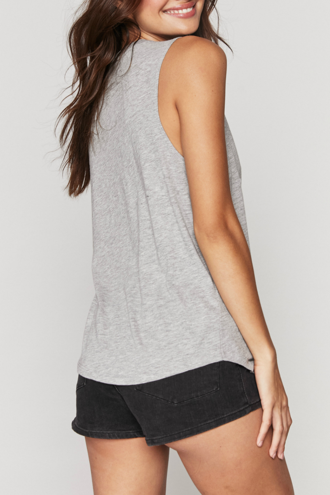 Spiritual Gangster  Change Muscle Tank - Side Cropped Image