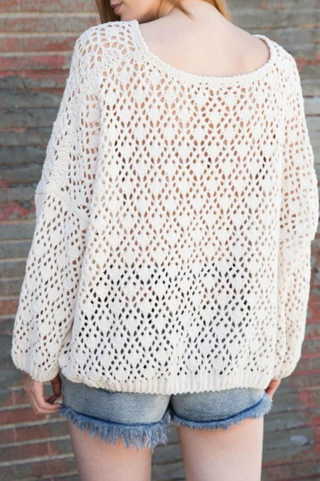 POL Changing Seasons Sweater - Front Full Image