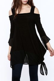 Channa Cold Shoulder Tunic - Product Mini Image