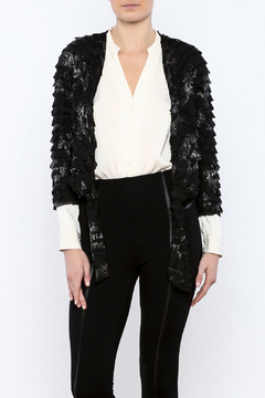 Channa Cropped Tied Jacket - Product List Image