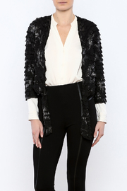 Channa Cropped Tied Jacket - Product Mini Image