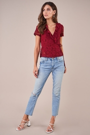 Sugarlips Chantilly Lace Wrap Top - Other