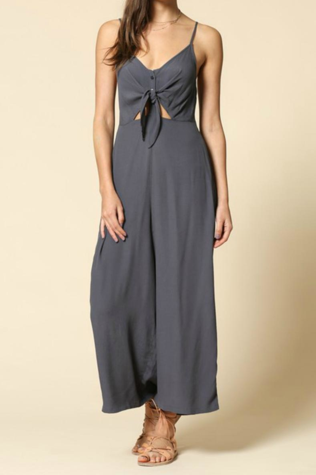 fa30d8191fc76 By Together Charcoal Jumpsuit from Tennessee by Threads — Shoptiques