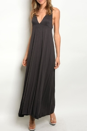Mustard Seed Charcoal Maxi Dress - Product Mini Image