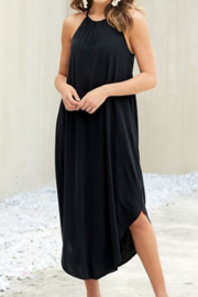 MudPie Charcoal midi dress - Product Mini Image