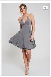 Wishlist Charcoal Mini Dress - Product Mini Image
