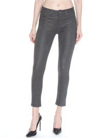 Bianco Jeans Charcoal Python Skinny - Product Mini Image