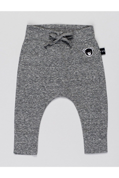 Huxbaby Charcoal Slub Drop Pant - Product List Image