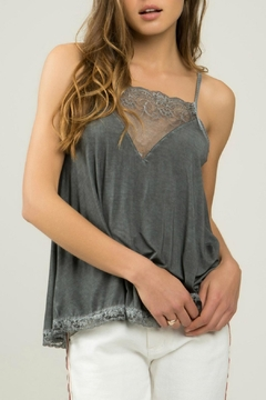 POL Charcoal Tank Top - Alternate List Image