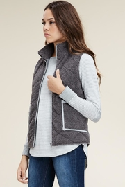Staccato Charcoal Vest - Product Mini Image