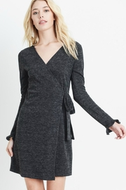 Le Lis Charcoal Wrap Dress - Product Mini Image