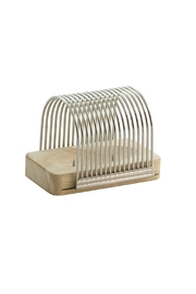 Charcoal Companion Hasselback Slicing Rack - Front cropped