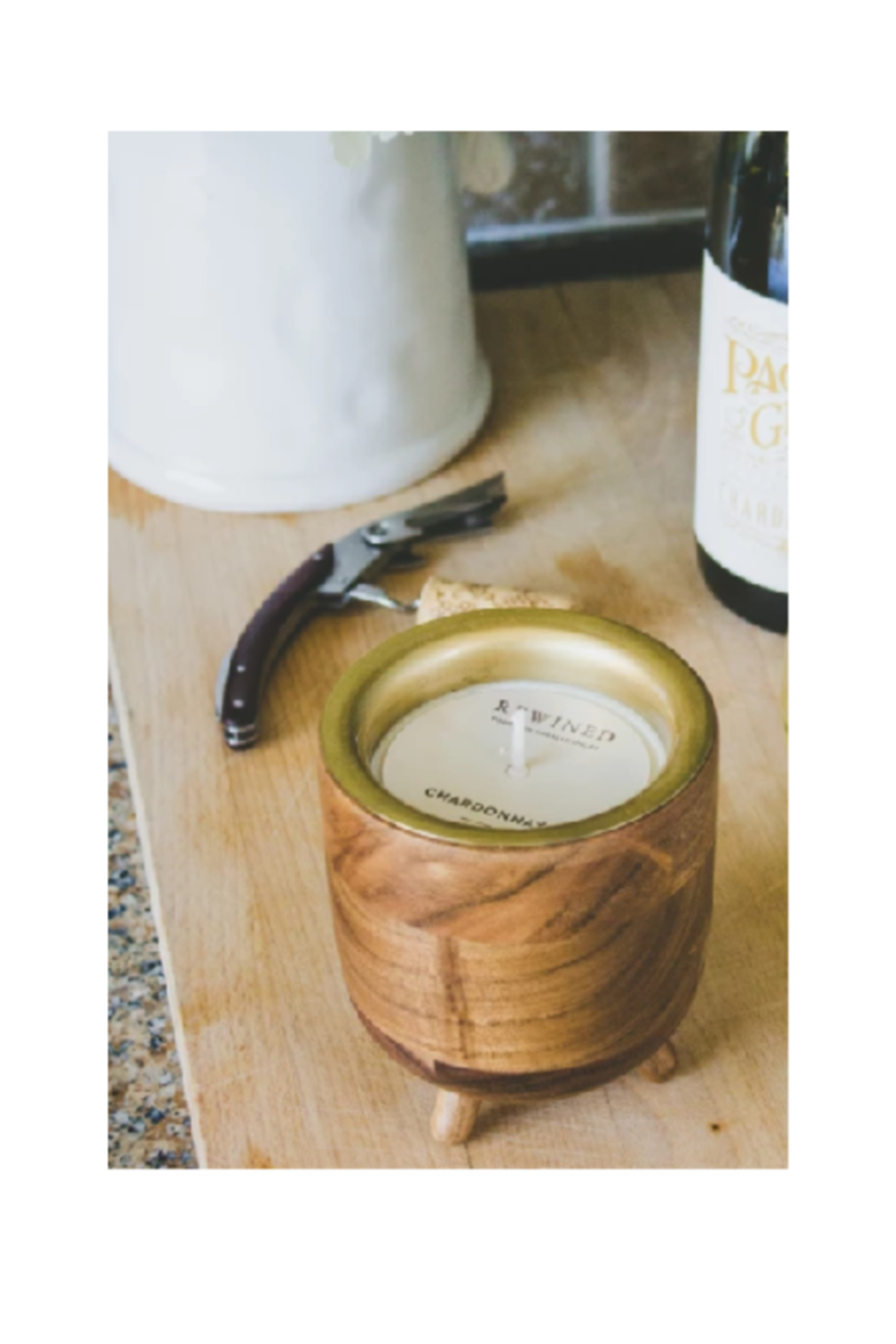 The Birds Nest CHARDONNAY CANDLE-BARREL COLLECTION - Main Image