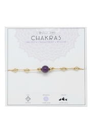 CHARGED Amethyst Chakra Bracelet - Product Mini Image