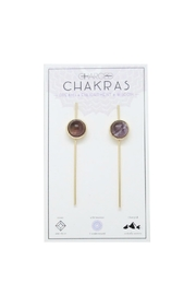 CHARGED Amethyst Chakra Earrings - Product Mini Image