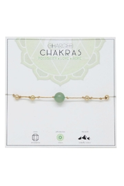 CHARGED Aventurine Chakra Bracelet - Front cropped