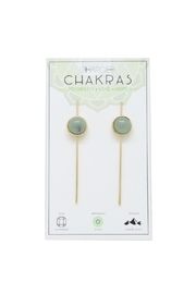 CHARGED Aventurine Chakra Earrings - Product Mini Image