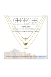 CHARGED Aventurine Layered Necklace - Product Mini Image