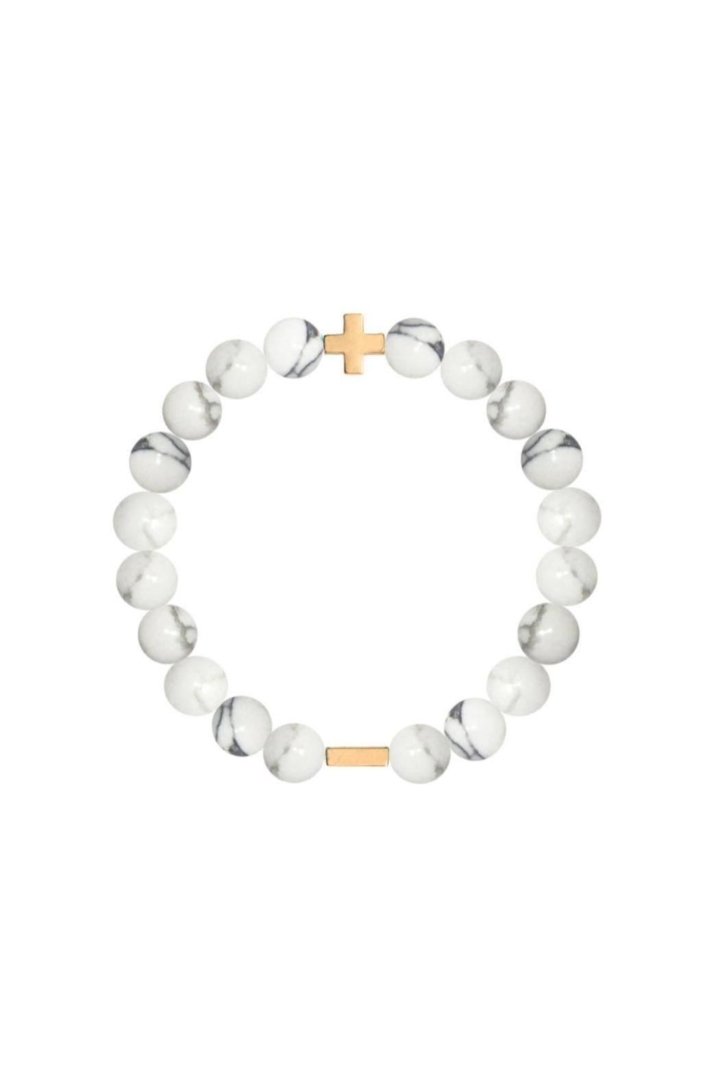 CHARGED Charged Howlite Bracelet - Main Image